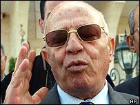 Palestinian prime minister-designate Ahmed Qurei