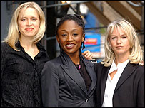 Beth Cordingley, Diane Parish and Lisa Maxwell
