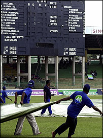 Groundstaff were made to work overtime in Colombo