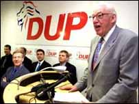 DUP has benefited from internal UUP divisions