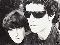 Maureen Tucker and Lou Reed of The Velvet Underground