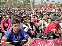 Maoist rally in Nepal