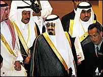 Crown Prince Abdullah Bin Abdul Aziz of Saudi Arabia