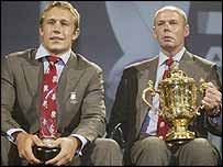 Jonny Wilkinson and Clive Woodward