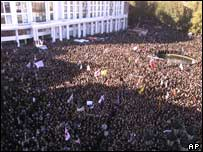 Demonstrations in Tbilisi on Saturday