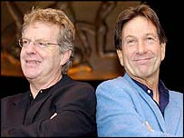 Jerry Springer and Michael Brandon