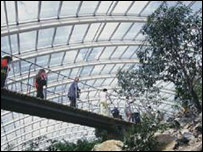 Middleton glasshouse