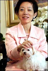 Wu Shu-chen, Taiwan's first lady