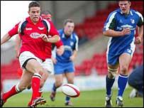 Scarlets fly-half Gareth Bowen