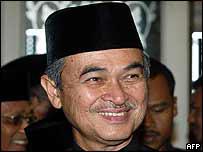 Malaysia's PM Abdullah Badawi