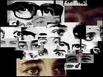 Fotografías de desaparecidos en Chile.