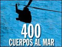 Helicóptero sobre el mar - Portada de la revista dominical del diario La Nación.