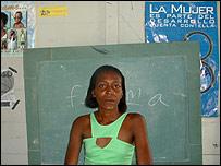 Josefina, una dominicana v�ctima del SIDA