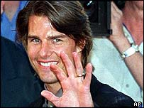 Tom Cruise in 1999