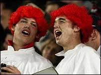 Wales fans singing in Sydney