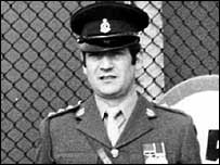 Major Ian Hill in a photo dated 1981