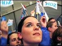 HDZ supporters