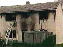 Merthyr house where Diane Jones and two children died