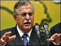 Jalal Talabani, the current chair of the Iraqi Governing Council