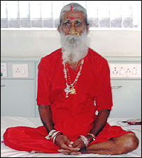Fasting holy man, Prahlad Jani