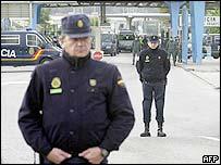 Spanish border police
