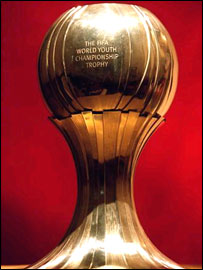 The World Youth Championship trophy