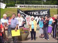 Local protest