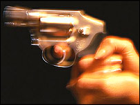 A pistol