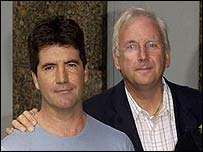 Simon Cowell and Pete Waterman