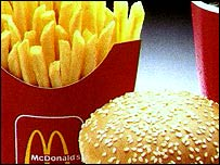 Big Mac and fries
