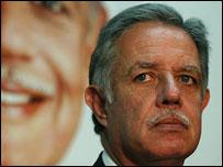 Oscar Berger, candidato presidencial