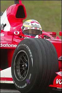 Ferrari test driver Luca Badoer