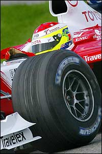 Toyota test driver Ryan Briscoe