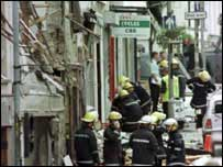 Aftermath of Real IRA attack on Omagh