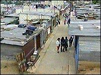 Slum in Guatemala City