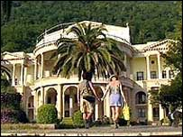 Abkhazia has beautiful coastline and mountains