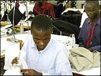 Kenyan worker