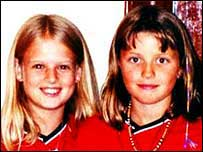 Holly Wells and Jessica Chapman in their Man United kit