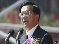Taiwan's President, Chen Shui-bian