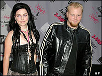 Amy Lee and Ben Moody