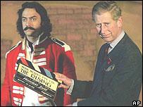 Prince Charles and Amir Khan