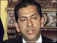 Ecuador's former President Lucio Gutierrez