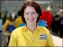 Theresa Daly, Ikea store manager