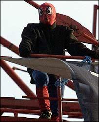'Spiderman' David Chick