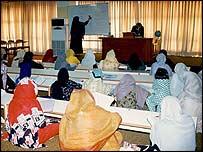 Koran translation class at the al-Huda institute.  Pic: Anis Hamdani
