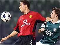 Man Utd's Rio Ferdinand