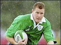 Connacht winger Matt Mostyn