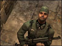 Screengrab from Return to Castle Wolfenstein, Activision