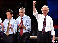 Senator Lieberman and other Democrat candidates
