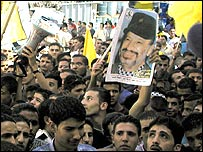 Palestinians have rallied round Arafat since his confinement
